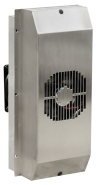 Efficient enclosure cooling with Peltier technology